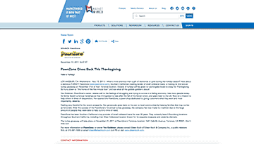 PawnZone Gives Back This Thanksgiving