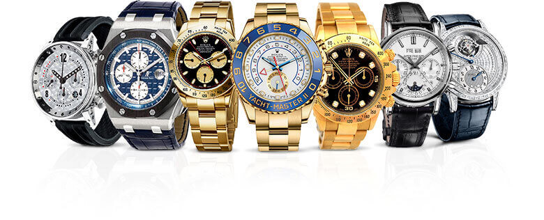 Cash Loans on Swiss and Designer Brand watches